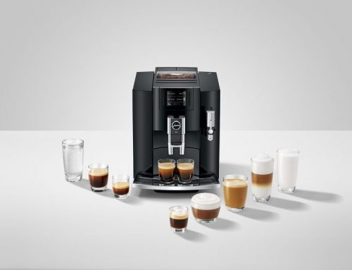 Jura S8 serves coffee with precision and style
