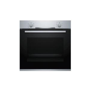 Bosch Horno Multifuncional Empotrable, 24″/60 cm, Serie 2, Vidrio Negro y Acero Inoxidable