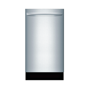 Bosch Lavavajillas, 18″/45 cm, Serie 800, Acero Inoxidable